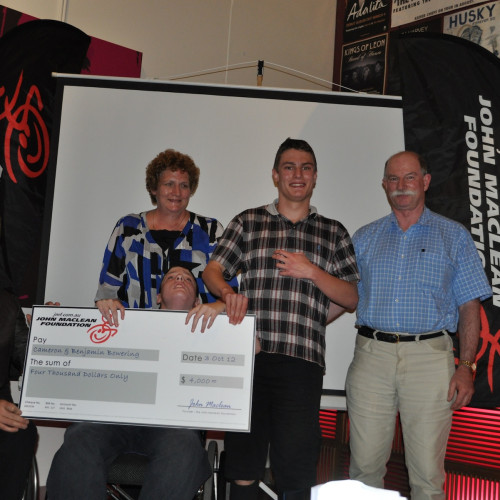 JMF Grant Recipients the Bowering family