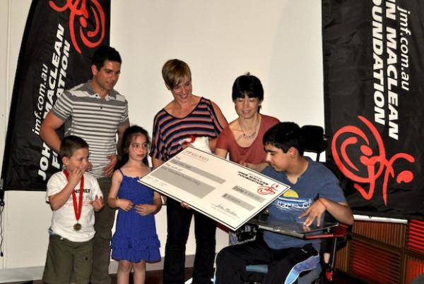 JMF Kids 4 Kids Grant Recipient Troy van Heer