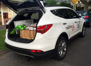 Could not have gotten through the day without Hyundai! Lots of things for the presentation in this boot!