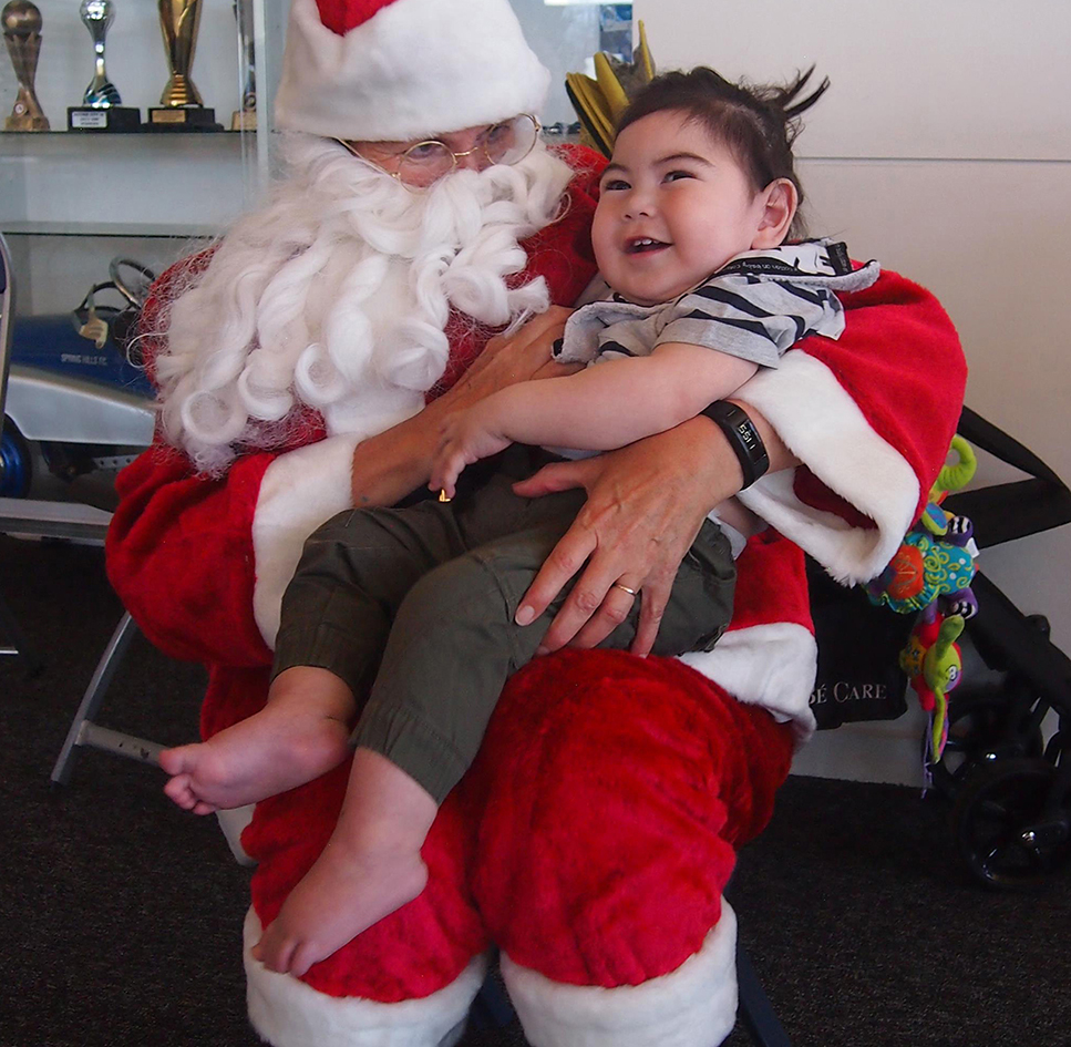Two year old Tommy is about to receive a life changing grant ... His very first wheelchair that will not only change his life but that of his loving families.